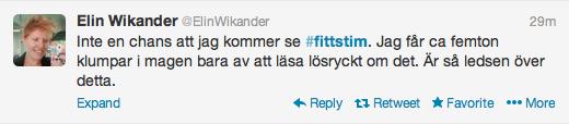 Elin Wikander Fittstim