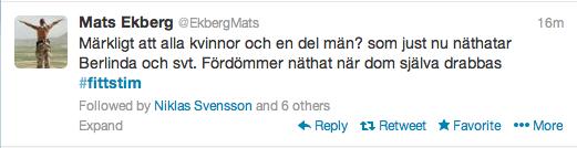 Mats Ekberg Fittstim