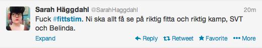 Sarah Häggdahl Fittstim