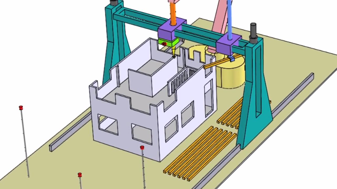 3D-printer hus