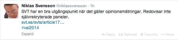 Niklas Svensson op-matn