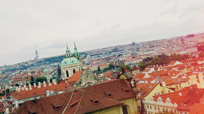 "Staden Prag i Tjeckien. Foto: CC Flickr ""Steffy"""