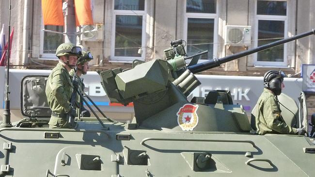 """Rysk militär. Foto: """"celesteh"""" CC Flickr"""