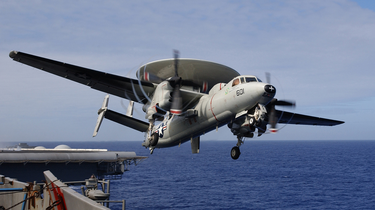 E-2C Hawkeye. Foto: Jason T. Poplin / Creative Commons