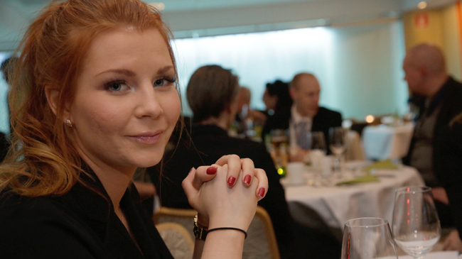 Louise Erixon - Foto: Chang Frick / Nyheter Idag