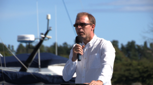 Ola Svensson sitter i Sverigedemokraternas valberedning. Foto: Chang Frick