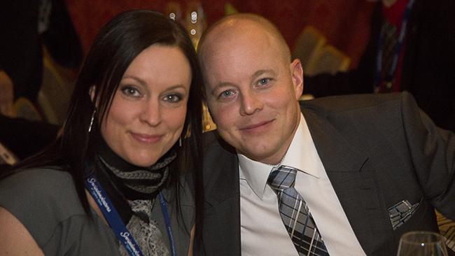Anna Wigenstorp & Björn Söder - Foto: Chang Frick / Nyheter Idag