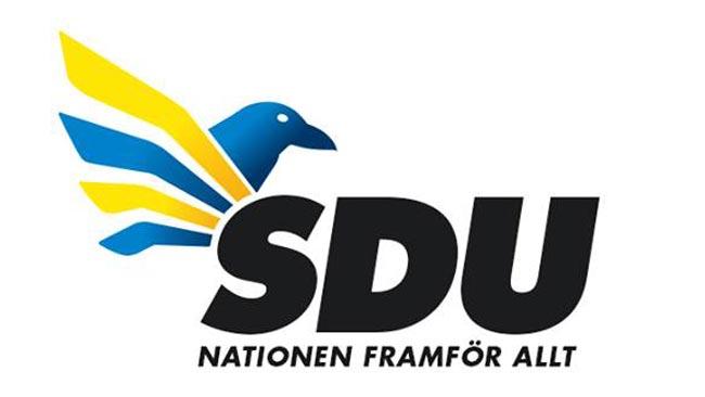 SDU:s nya logotype? Foto: Hemlig Källa / Nyheter Idag