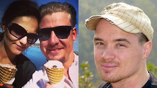 Till vänster - Linus Bylund och snygg tjej. Till höger - Ted Ekeroth. Bilden är ett montage. Foto: Privat