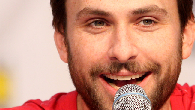 Charlie Day vid ComiCon. - Foto: Wikimedia Commons