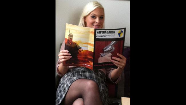 Hanna Wigh kandiderar på plats 14 till riksdagen för SD. Foto: Privat