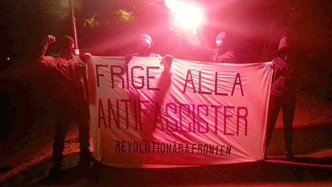 Revolutionära fronten kräver att de dömda medlemmarna ska friges. Foto: Facebook