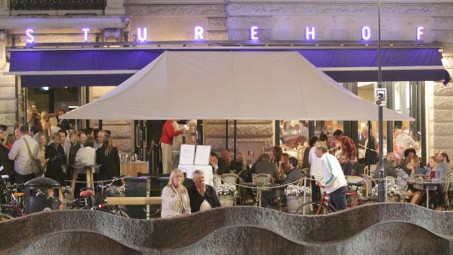 Sturehof är ett populärt ställe för kändisar. Foto: Nyheter Idag