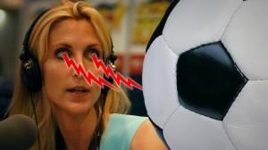 Ann Coulter ser rött. - Montage: Nyheter Idag