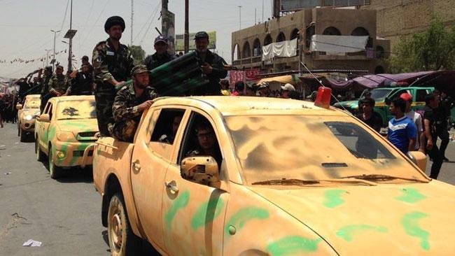 Bilarna hade hemmafixad kamouflering. Foto: Buzzfeed