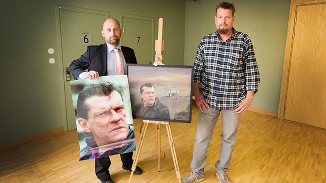Jonas Lemberg till vänster och Markus Andersson till höger. - Foto: Staffan Teste