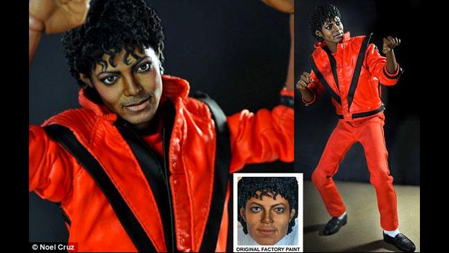 Med denna docka kan du göra en riktigt snygg stop motion musikvideo av Thriller.