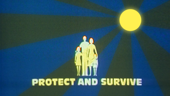 Kärnvapen dödar, inte solen. Montage: Nyheter Idag