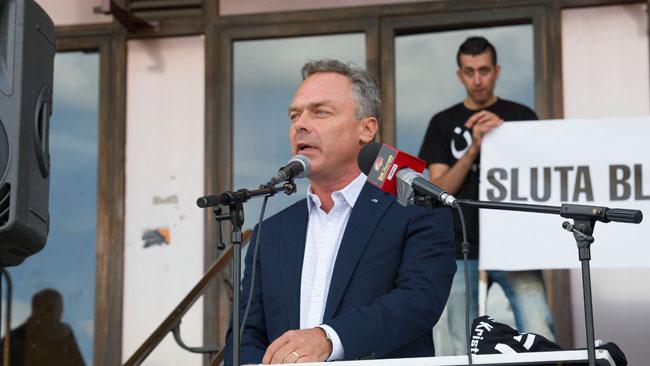 Även Björklund jämförde islamism med nazism. Foto: Sven Pernils / Nyheter Idag