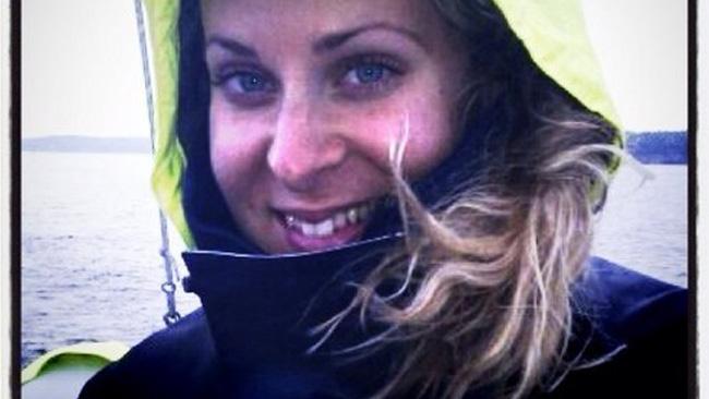 Detta ska enligt uppgift till Nyheter Idag vara en bild på Caroline Karlsson, pressekreterare hos Anders Borg, publicerad på twitter. Foto: twitter.com