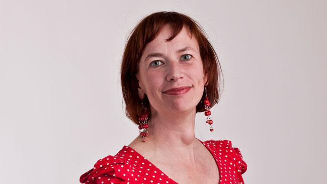 Christina Höj Larsen. Foto: Vänsterpartiet