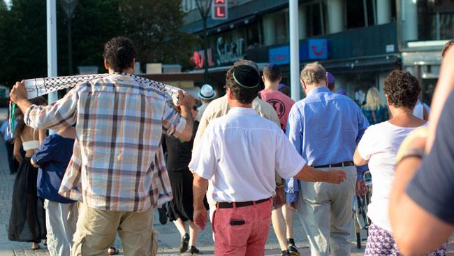 Polisen prioriterar hatbrotten, men det är svårt att utreda. Foto: Elinor Magnusson