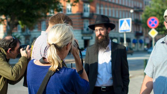 Schneur Kesselman är rabbin i Malmö. Foto: Elinor Magnusson