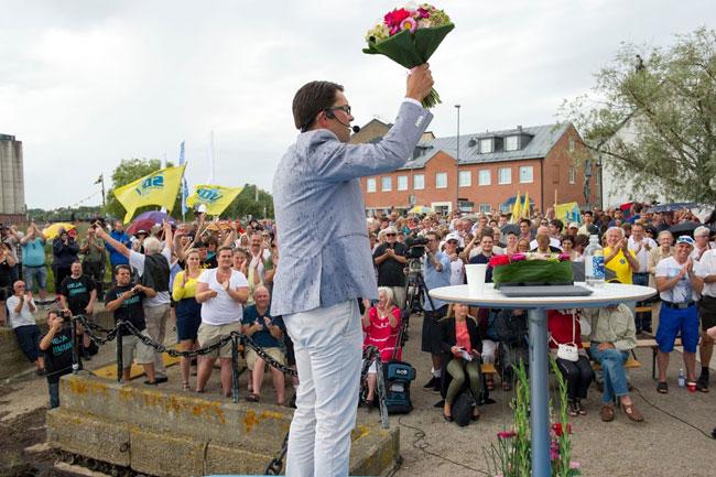 Sverigedemokraternas partiledare Jimie Åkesson. Foto: Sven Pernils / Nyheter Idag