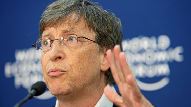 Känd från Microsoft: Gamla chefen Bill Gates. Foto: Andy Mettler