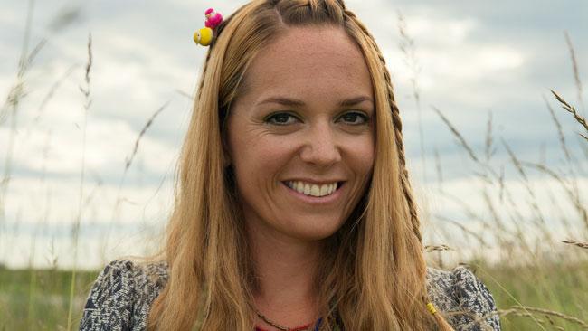 Johanna Jönsson blev invald i riksdagen för centerpartiet. Foto: stadslolla.se