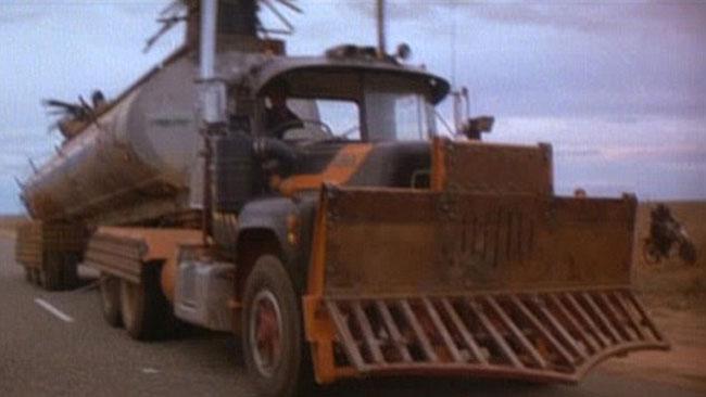En av bilarna ur filmen Mad Max