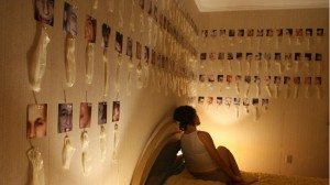 Tonje drömmer om 10 000 kondomer på väggen Foto:privat