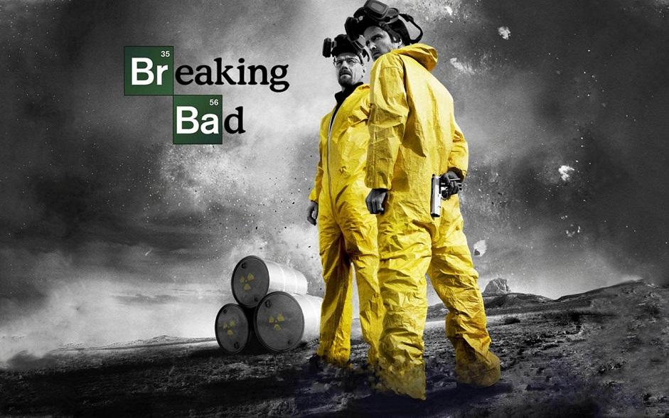 Metamfetamin lockar leksaksjätten. Walter White och Jesse Pinkman blir nu actionfigurer. Foto: AMC