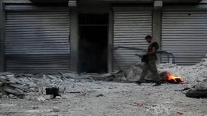 Här pågår strider i Syrien. Foto: Wikimedia