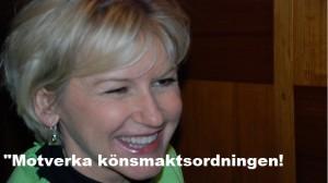 Utrikesminister Margot Wallström. Foto: Torsten Hellberg