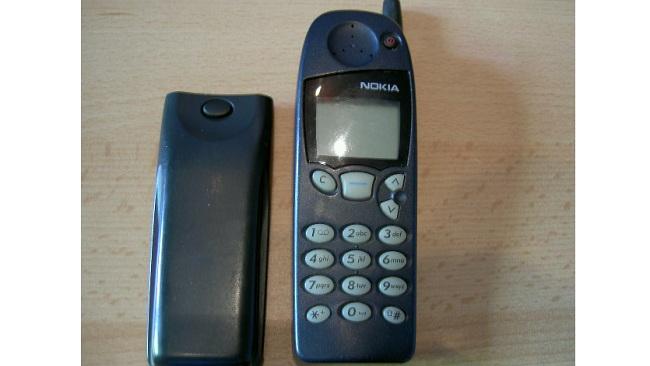 Nokias supersuccé på 90-talet, 5110. Foto: Denis Apel