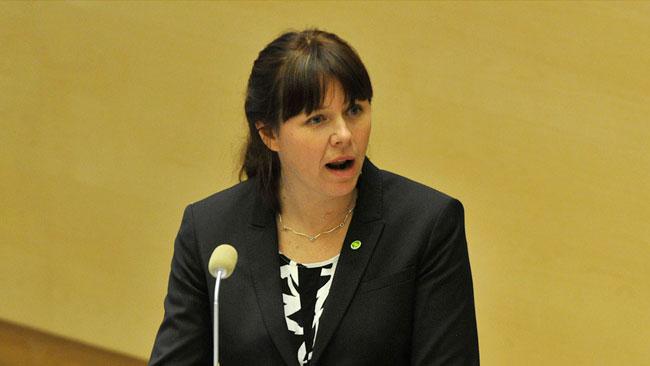 Miljöminister Åsa Romson. Foto: Björn Bergman / photo2be.com