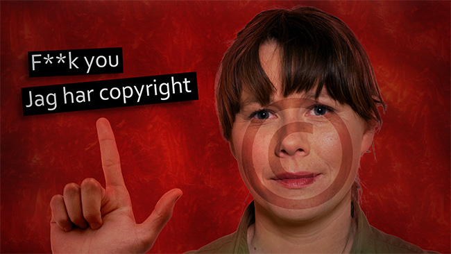 Copyright, motherf**cker!