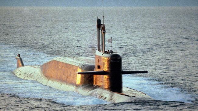 Rysk U-båt av delfinklass. Foto: Wikipedia