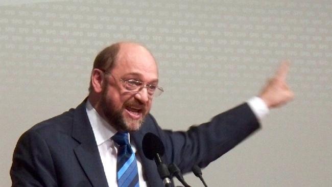 Europaparlamentets talman Martin Schulz Foto: Wikimedia