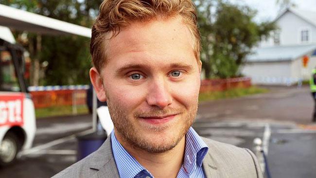 Henrik Vinge. Foto: Privat