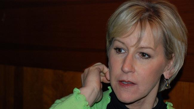 Utrikesminister Margot Wallström. Foto: Torsten Hallberg