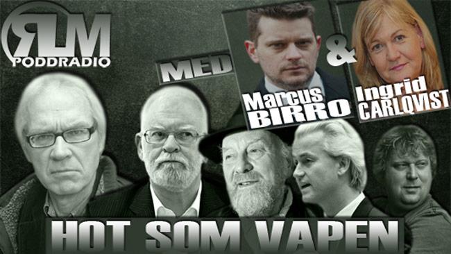 Omslaget till Radio Länsmans poddcast där Marcus Birro gästade.