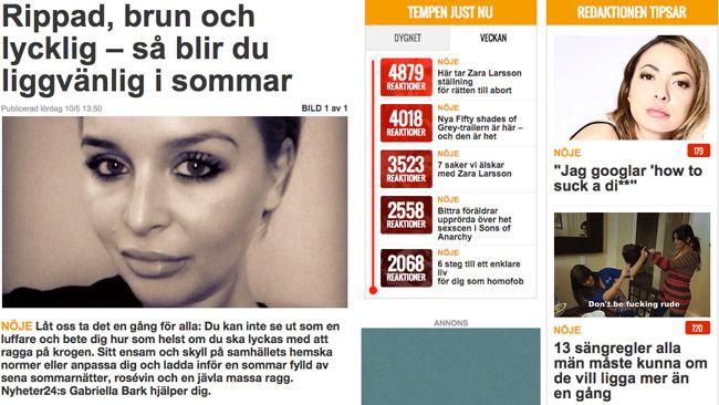 """Nyheter24-redaktionen är typiska """"Getthocats"""""""