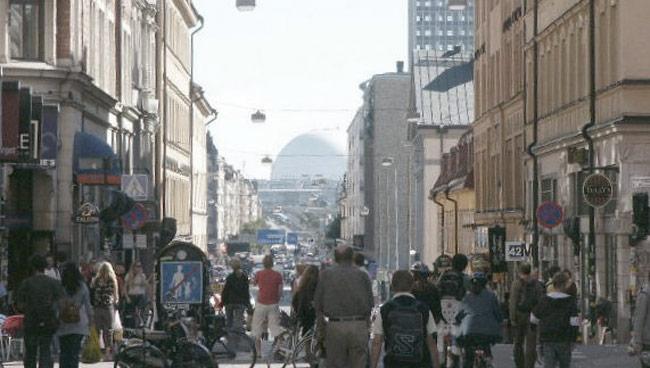 På Södermalm kan allt hända. Foto: Wikipedia