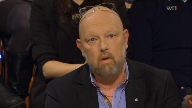 Michael Anefur (Kd) Foto: Faksimil SVT Debatt