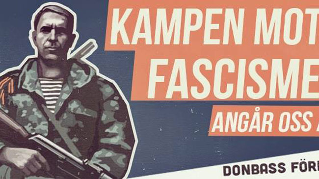En del av den affisch som satts upp i Malmö. Foto: Faksimil Facebook