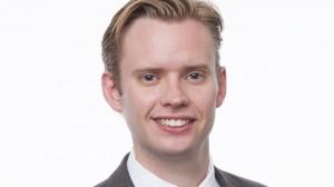 Moderaternas riksdagsledamot Fredrik Schulte. Foto: pressbild schulte.se