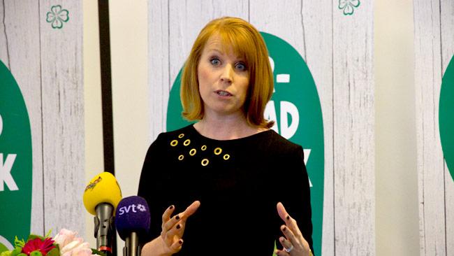 Annie Lööf. Foto: Chang Frick / Nyheter Idag