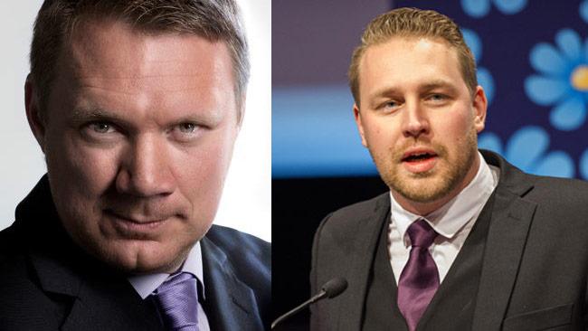 Niklas Svensson till vänster och Mattias Karlsson till höger. Bilden är ett montage. Foto: Privat / Sven Pernils